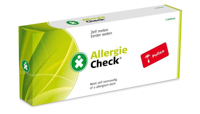 Allergie zelftest