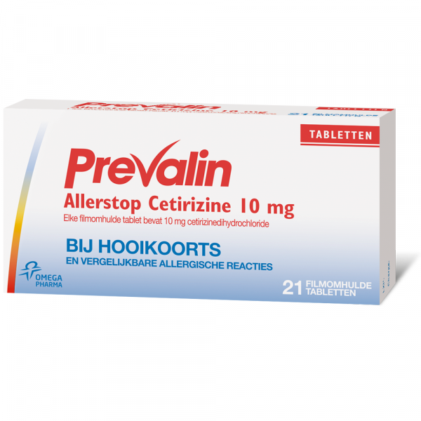 Prevalin Allerstop Tabletten (Cetirizine)