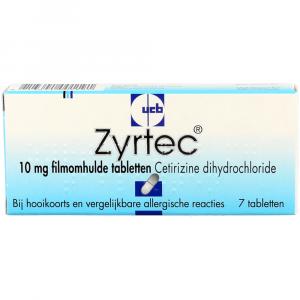 Zyrtec Cetirizine Tabletten