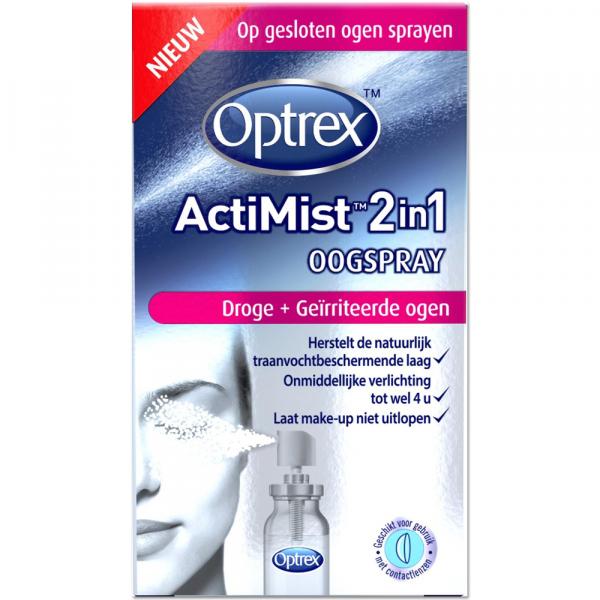 Optrex ActiMist 2in1 Oogspray (Droge + Geirriteerde Ogen)